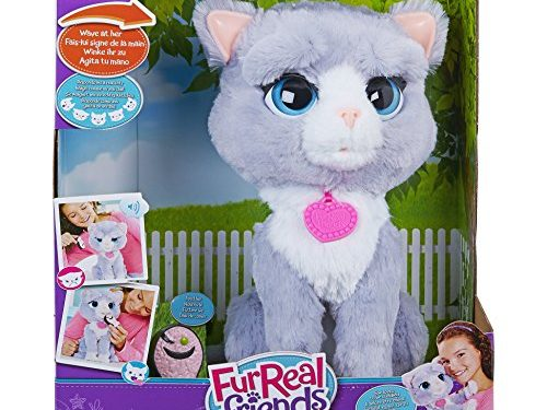Fur Real Friends B5936EU40 – Gattina Bootsie, Grigio
