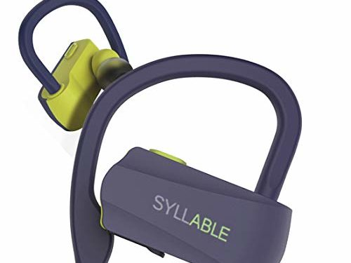 Syllable Cuffie Senza Fili Bluetooth D15, TWS per iPhone Samsung Huawei, iPad e Altro